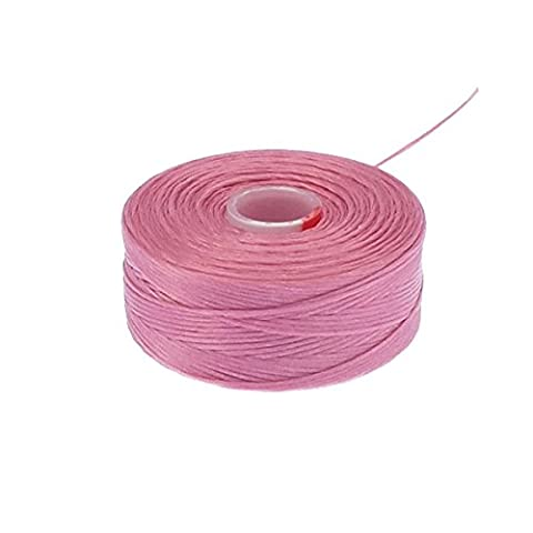 Beadsmith Superlon (S-Lon) Tex45 Size D - Pink - 70m