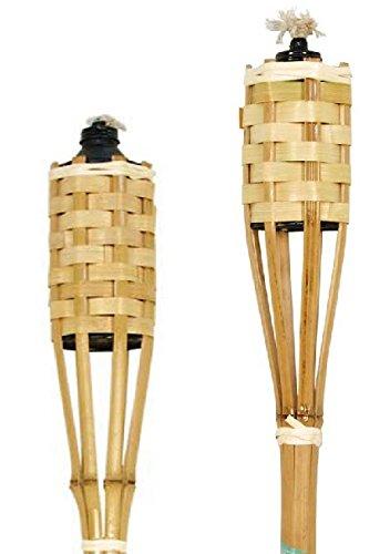 VERDEMAX 5404 Torcia in bambù Naturale 120 cm