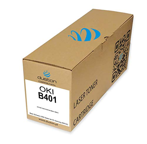 B401 Schwarz Toner 44992402 kompatibel zu Oki B401 MB441 MB451