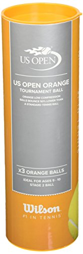 Wilson US Open Tournament Tennis Ball (Orange)  available at amazon for Rs.208