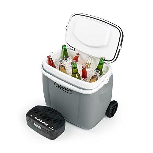 Auna 36 Liter große Trolley-Kühlbox mit Lautsprecher