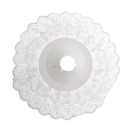 MagiDeal Socle-bouquet Support Fleurs Artificielles Décoration Accessoire Mariage Soirée Bouquets De Fleurs - Blanc, Dia: 23cm