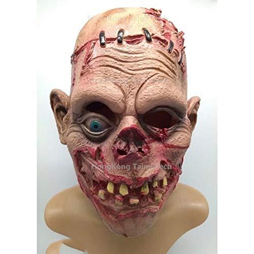 Kostüm Erwachsene Für Fäulnis - FLTVSN Halloween-Maske Fäulnis Gruselige Maske Übermütige Übelkeit Parasit Zombiemaske Latexverfall Vampir Halloween Schädel Terror Masken Horrormaske