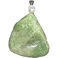 KRIO® - schöner Vesuvianit/Vesuvian Anhänger mit Silberöse preisvergleich bei billige-tabletten.eu