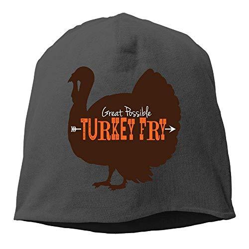 Wdskbg Top Level Beanie Hat Men Women Knit Hat Thanksgiving Cotton Skull Cap