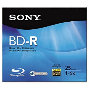 sony BD-R Recordable Disc 25GB 2x