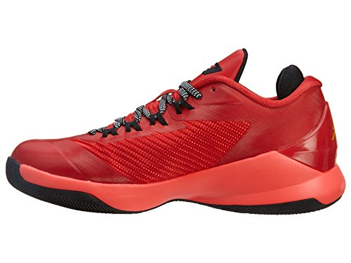 Nike CP3 VIII BG Black Red Youths Trainers Challenge Red / Black-Infrared 23-Tour Yellow