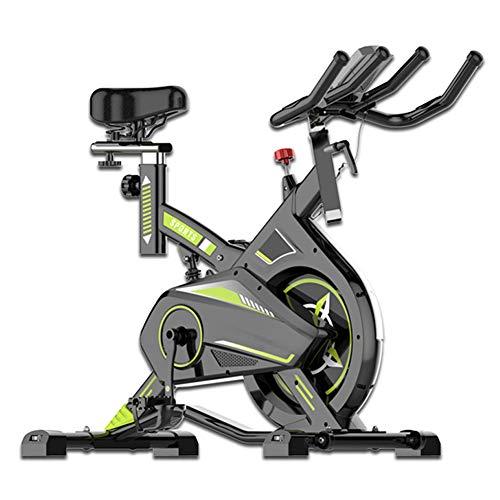 Heimtrainer Fahrrad für Zuhause,Indoor Cycle Spinning Fahrrad Ergometer Fahrrad Verstellbarer lenker Widerstand LCD Elektronische Kalorien Herzfrequenzsensor usw Maximale Tragfähigkeit 150kg