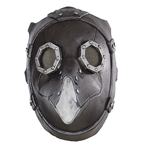 BESTOYARD Vogel Kopf Maske Latex Gothic Retro Scary Funny Halloween Cosplay Kostüme