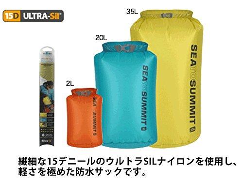 Sea To Summit Packsack Ultra Sil™ Nano Drysack - Wasserdichter und leichter Stausack 1 Liter