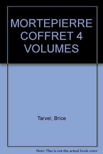 Coffret Mortepierre, 3 volumes