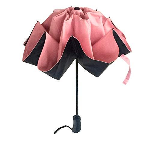 0bc5414d9c40b0 Lothus, Parapluie pliants Rose Rosa Shock 120cm x 106 cm (chiuso 32cm)