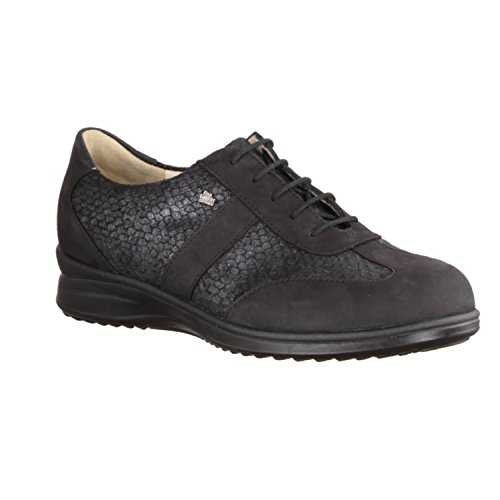 FinnComfort Lazio 02223901492 femmes Chaussures à lacets Noir