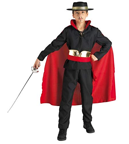 chiber Disfraces Zorro Don Diego Bandit Kostüm für Kinder (3-4 Jahre)