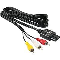 Cable AV con/sin adaptador Scart adaptable a Gamecube/N64/SNES, de Amathings