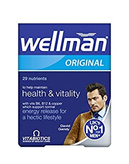 Wellman Vitabiotics Original - 30 Tablets (B000LNHAZY) | Amazon price tracker / tracking, Amazon price history charts, Amazon price watches, Amazon price drop alerts