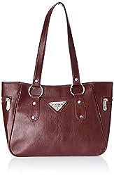 Fostelo Women's Handbag (Maroon) (FSB-339)