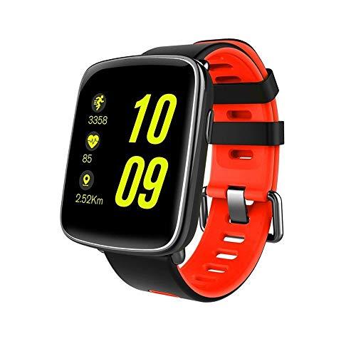 Ejolg IP68 wasserdicht Fitness Tracker Mens Womens Smart Watch, mit Herzfrequenz, Schlafüberwachung, Schrittzähler Schrittzähler, etc, Unterstützung mehrerer Landessprachen,B