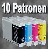 D&C ink cartridges 10er-Set D&C Patronen für Ihren Brother MFC-235C Drucker