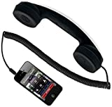 Holy Delight Coco Phone Radiation Free Phone 3.5mm Wired Retro Phone Handset Receiver with Mic Wired Headset with Mic (Multicolor, On The Ear 1 Pcs)