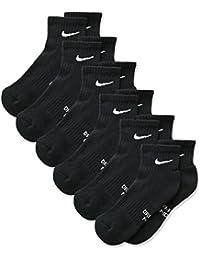 Nike - Calcetines de Tobillo Acolchados para niños (6 Pares) - SX6912, S