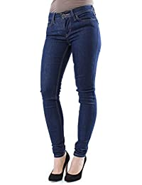 Levi's Innovation Super Skinny Pacific Rinse - Vaquero skinny Mujer