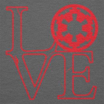 Texlab–Empire Love–sacchetto di stoffa Grau