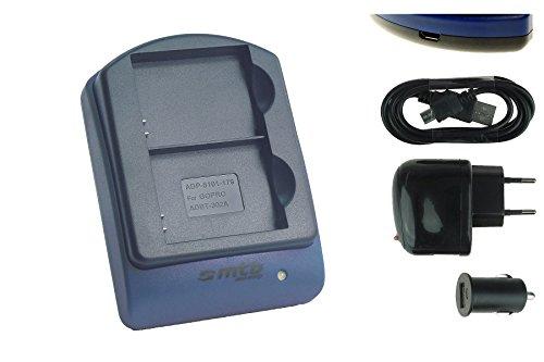 caricabatteria-per-due-batterie-usb-auto-corrente-ahdbt-301-302-per-gopro-hero3-hero3-black-white-si