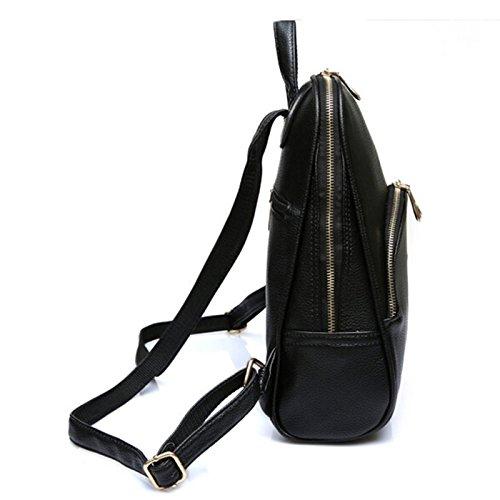 Mefly Zaino Marchi Famosi Scuola Donne Borse Zaini In Pelle Borse Da Viaggio Borse Da Viaggio,Lago Zaino Blu black backpack