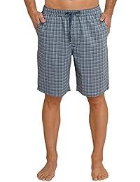 Schiesser Mix & Relax Bermuda, Pantalon de Pyjama Homme