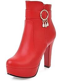 Amazon.fr   chaussure plateforme femme - Easemax   Bottes et ... 11bfdc6fe129