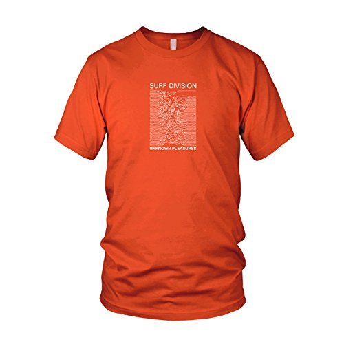 Surf Division - Herren T-Shirt Orange