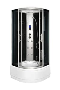 Komplettdusche duschtempel duschkabine 80x80 duschabtrennung duschwand glas neu baumarkt - Duschwand 80x80 ...
