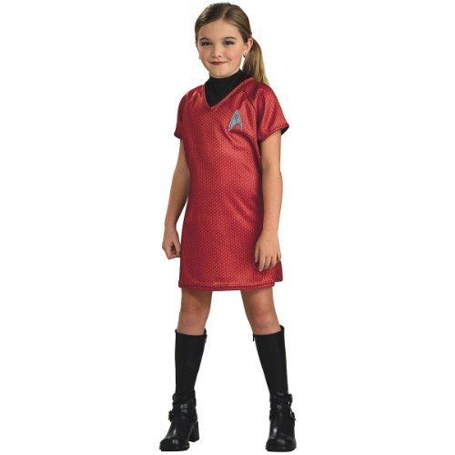 Uhura - Star Trek - Kinder-Kostüm - Klein - 117cm (Uhura Kostüm Zubehör)