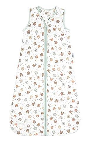 Schlummersack Simply Ganzjahres Babyschlafsack 2.5 Tog - Eulen - 6-18 Monate/90 cm
