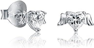 Pendientes Viceroy Jewels 7071E000-30 Corazón Alado San Valentín