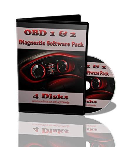 Car Diagnostics Software & ECU Remapping for OBD 1 & 2 Plus Manuals &  Tuning Files - 4 Discs
