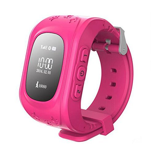 Micromax Canvas Power A96 COMPATIBLE Smart Watch and Fitness Tracker compatible with all mobile, Supports GSM & GPS with function of Kids Safety , SOS Calls , Pedometer , Alarms , Anti-Lost for Android and iOS Phones (LIGHT PINK) by vell-tech  available at amazon for Rs.1999