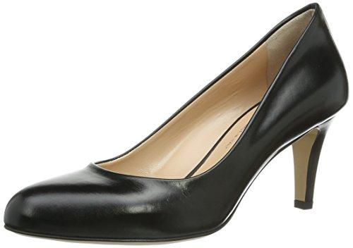 Evita Shoes Pumps geschlossen, Damen Pumps, Schwarz (Schwarz), 42 EU (8 Damen UK)