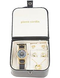 Conjunto Collar y Pendientes Mujer Pierre Cardin PCX4375L187 (4 pcs)