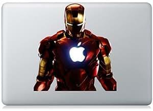 """Macbook 13"""" 15"""" décalcomanie autocollant Iron Man art pour Apple Apple Ordinateur Portable"""