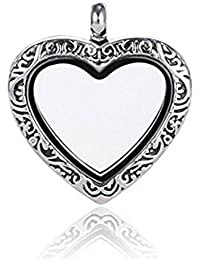 ANDANTE Cadena de plata colgante para Floating Charms flotantes medallones + Traumhandel