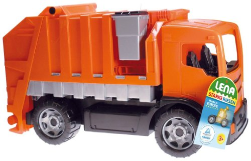 Lena Rubbish Truck (Large, Orange)