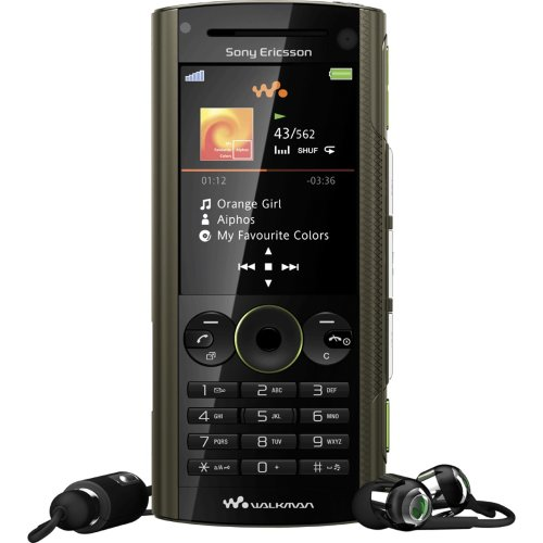 Sony Ericsson W902 earth green Handy