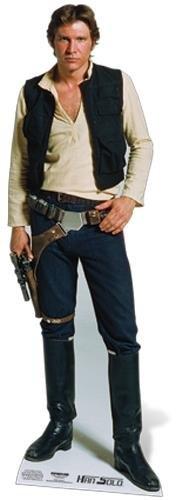 Life-Size Stand-up (Lebensgroßer Pappaufsteller) Han Solo (Aufsteller Standup Cardboard Cutout)