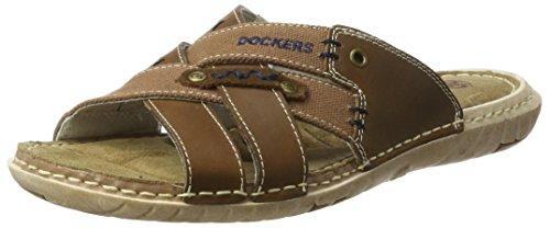 Dockers by Gerli 38sd006-402300, Mules Homme Marron (Braun 300)