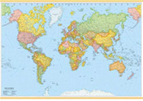 Mondo 100x140. Carta geografica amministrativa (carta murale plastificata)