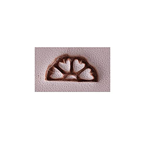 Weaver Leather Jeremiah Watt Heart Border Stamp, Steel, 3/8