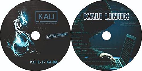 2 in 1 DVD Kali Linux E17 64 Bit & Kali Linux 32 Bit Bootable Installation DVD (2018.1 version)