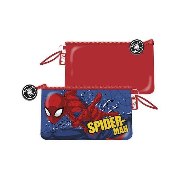 ARDITEX SM12508 Neceser de 24x14cm con Bolsillo de Marvel-Spiderman